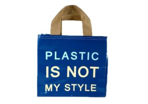 กระเป๋ากระสอบ ก้นสี่เหลี่ยม Shopping Bag